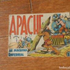 Tebeos: APACHE Nº 44 EDITORIAL MAGA ORIGINAL. Lote 197196641