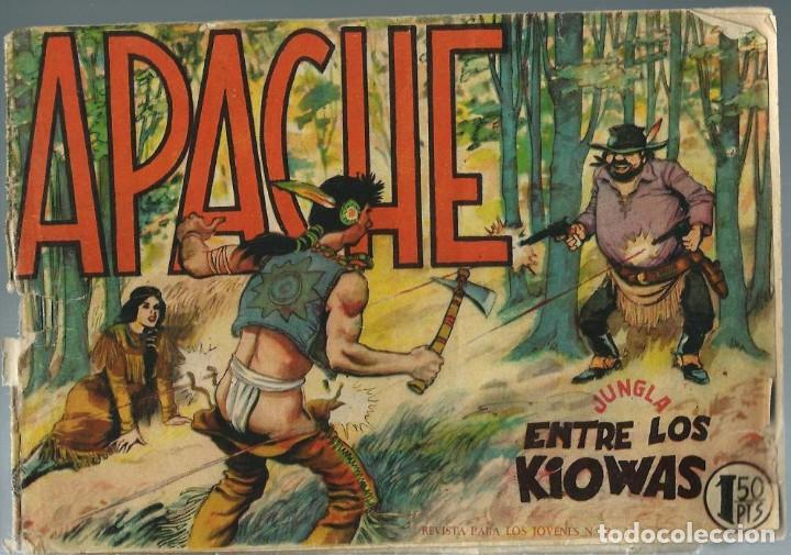 APACHE Nº 7 - ENTRE LOS KIOWAS - MAGA AÑOS 60 (Tebeos y Comics - Maga - Apache)