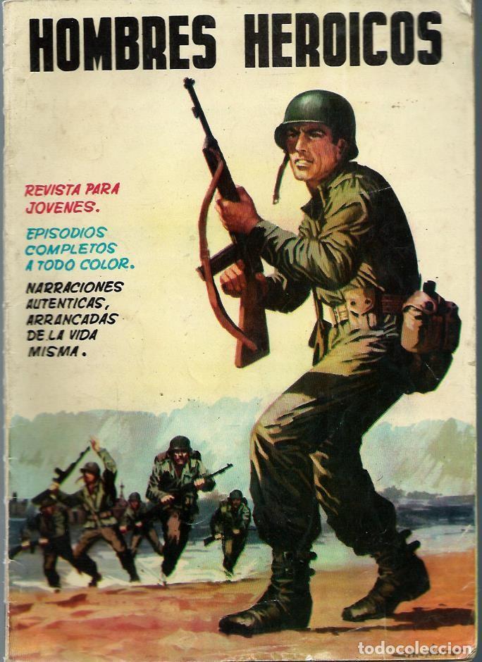 HOMBRES HEROICOS Nº 3 - MAGA 1962 - ORIGINAL - CASI UNICO EN TODOCOLECCION - BIEN CONSERVADO (Tebeos y Comics - Maga - Otros)