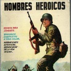 Tebeos: HOMBRES HEROICOS Nº 3 - MAGA 1962 - ORIGINAL - CASI UNICO EN TODOCOLECCION - BIEN CONSERVADO. Lote 197245837