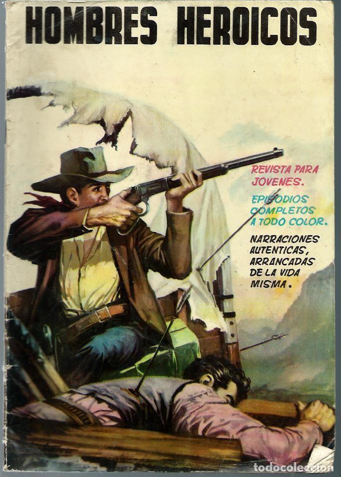 HOMBRES HEROICOS Nº 2 - MAGA 1962 - ORIGINAL - CASI UNICO EN TODOCOLECCION - BIEN CONSERVADO (Tebeos y Comics - Maga - Otros)