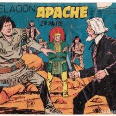 Tebeos: APACHE 2ª PARTE Nº 9: REVELACIÓN / MAGA ORIGINAL. Lote 197603247