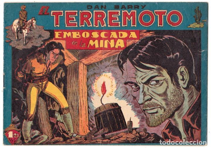 DAN BARRY EL TERREMOTO - NUMERO 7 - MAGA, ORIGINAL (Tebeos y Comics - Maga - Dan Barry)
