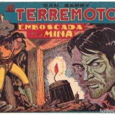 Tebeos: DAN BARRY EL TERREMOTO - NUMERO 7 - MAGA, ORIGINAL. Lote 197807200