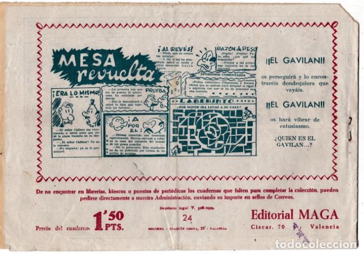 Tebeos: PIEL DE LOBO Nº 24, EDITORIAL MAGA - Foto 2 - 197871145