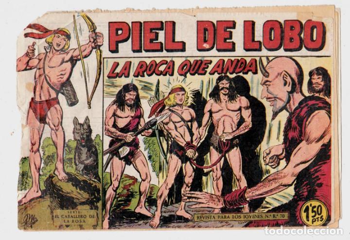 PIEL DE LOBO Nº 20, EDITORIAL MAGA (Tebeos y Comics - Maga - Piel de Lobo)