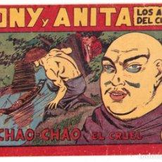 Tebeos: TONY Y ANITA , LOS ASES DEL CIRCO - Nº 57 - ED. MAGA. Lote 197885538
