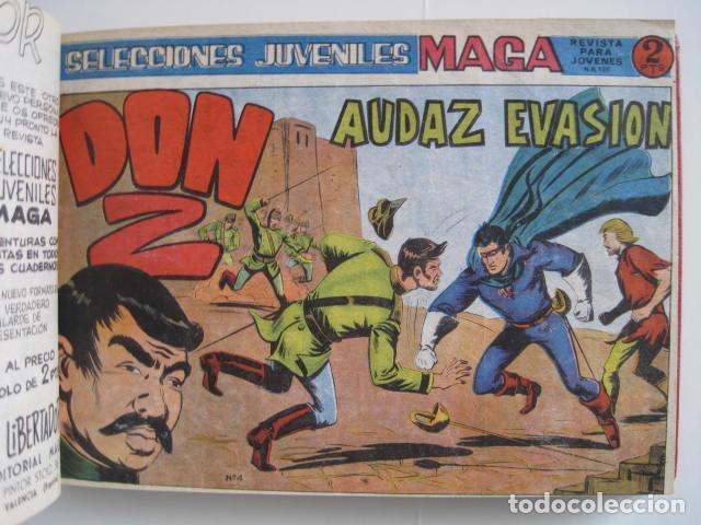 Tebeos: CÓMIC DON Z, EDITORIAL MAGA. SELECCIONES JUVENILES. REVISTA PARA JOVENES. CÓMIC LA CUADRILLA. 2 PTAS - Foto 10 - 197898588