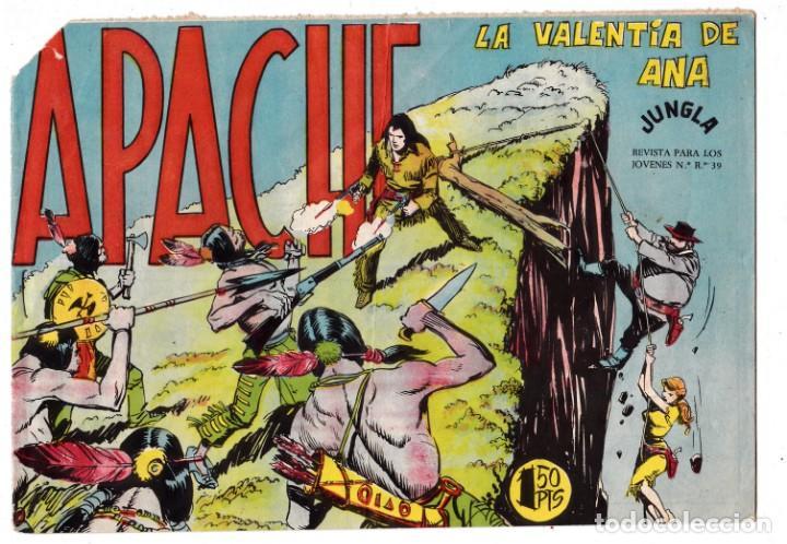 APACHE Nº 37 EDITORIAL MAGA ORIGINAL (Tebeos y Comics - Maga - Apache)