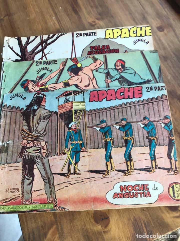 APACHE 2 PARTE ED MAGA TRES NUMEROS (Tebeos y Comics - Maga - Apache)
