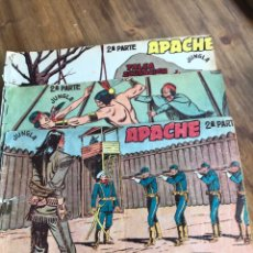 Tebeos: APACHE 2 PARTE ED MAGA TRES NUMEROS. Lote 198328053