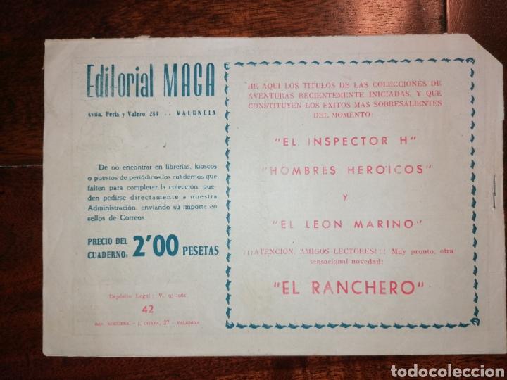 Tebeos: Cómic El Duende Ed. Maga La Pira del Sacrificio, n°42 año 1961 - Foto 2 - 198507396