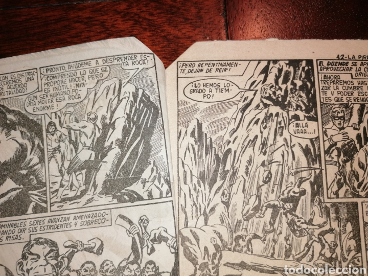 Tebeos: Cómic El Duende Ed. Maga La Pira del Sacrificio, n°42 año 1961 - Foto 4 - 198507396