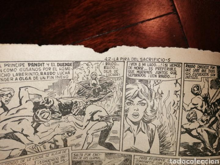 Tebeos: Cómic El Duende Ed. Maga La Pira del Sacrificio, n°42 año 1961 - Foto 5 - 198507396
