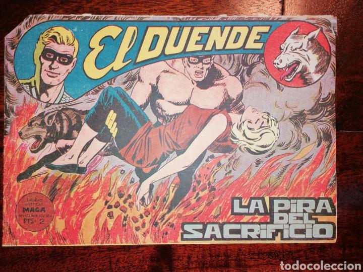 CÓMIC EL DUENDE ED. MAGA LA PIRA DEL SACRIFICIO, N°42 AÑO 1961 (Tebeos y Comics - Maga - Otros)