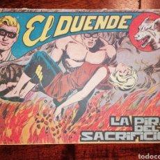 Tebeos: CÓMIC EL DUENDE ED. MAGA LA PIRA DEL SACRIFICIO, N°42 AÑO 1961. Lote 198507396