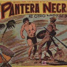 Tebeos: PANTERA NEGRA - Nº 12 - MAGA 1.958, ORIGINAL. Lote 198604323