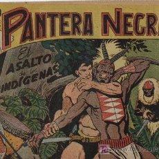 Tebeos: PANTERA NEGRA - Nº 42 - MAGA 1.958, ORIGINAL. Lote 198604328
