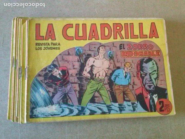 LA CUADRILLA -COL. COMPLETA DE 23 NºS -MAGA -ORIGINAL (Tebeos y Comics - Maga - Otros)