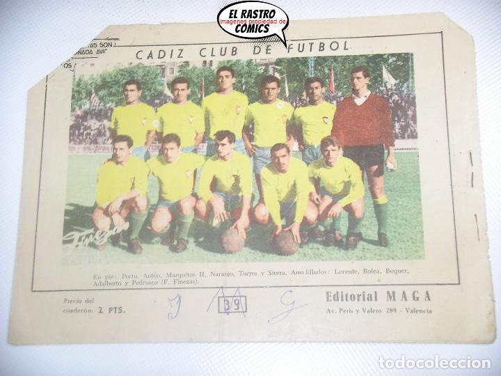 Tebeos: Oliman nº 39, ed. Maga, Cadiz FC - Foto 2 - 198845078