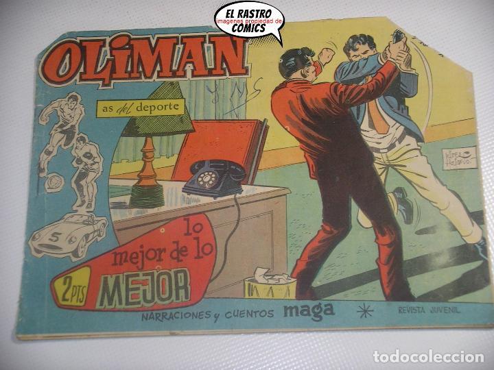 OLIMAN Nº 39, ED. MAGA, CADIZ FC (Tebeos y Comics - Maga - Oliman)