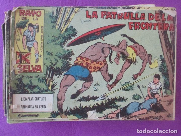 LOTE 43 TEBEOS RAYO DE LA SELVA, ED. MAGA 1960 (Tebeos y Comics - Maga - Rayo de la Selva)