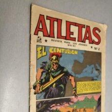 Tebeos: ATLETAS Nº 2 / REVISTA PARA JÓVENES / MAGA 5 PTAS.. Lote 199051125