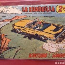 Tebeos: LA CUADRILLA-Nº3-ORIGINAL-BUEN ESTADO-PICO CORTADO. Lote 199090337