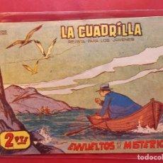 Tebeos: LA CUADRILLA-Nº5-ORIGINAL-BUEN ESTADO-PICO CORTADO. Lote 199090387