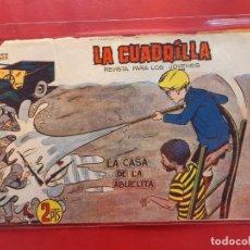 Tebeos: LA CUADRILLA-Nº12-ORIGINAL-BUEN ESTADO-PICO CORTADO. Lote 199090566