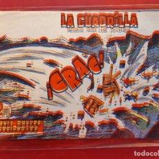 Tebeos: LA CUADRILLA-Nº20-ORIGINAL-BUEN ESTADO-PICO CORTADO. Lote 199090630
