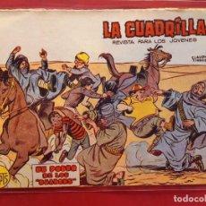 Tebeos: LA CUADRILLA-Nº22-ORIGINAL-BUEN ESTADO-PICO CORTADO. Lote 199090802