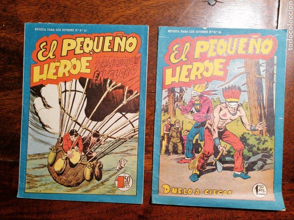 Tebeos: Cómic tebeo El Pequeño Héroe 6 números Ed. Maga originales - Foto 3 - 199161920