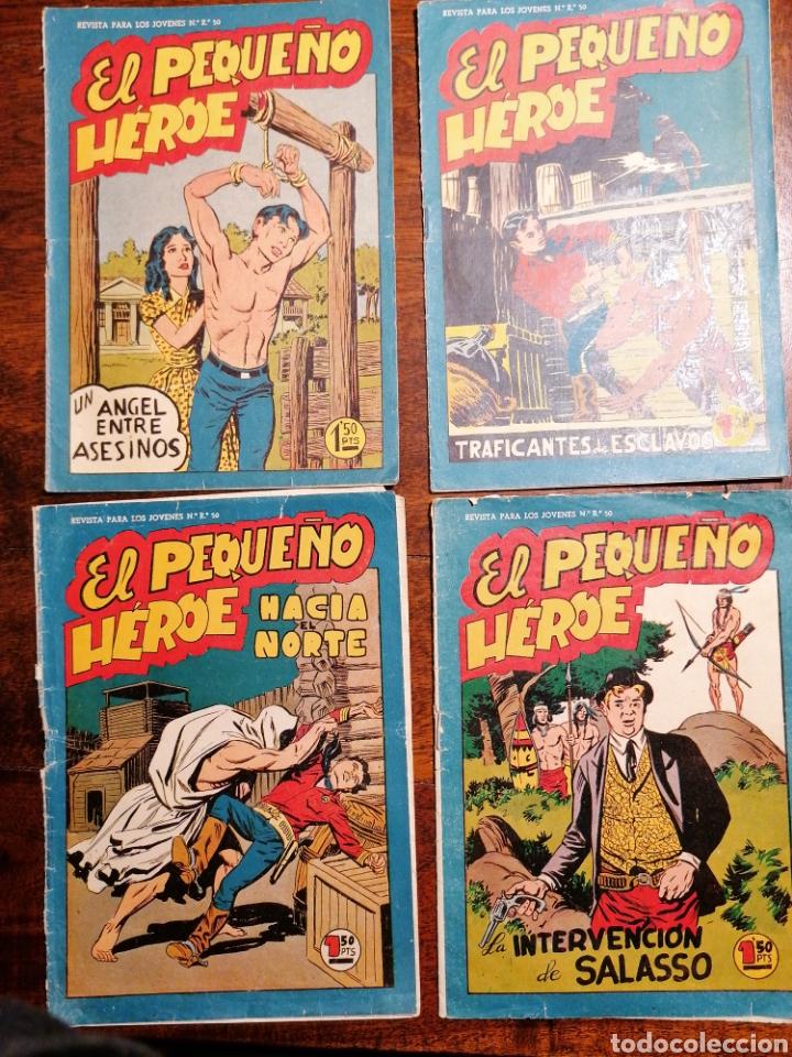 CÓMIC TEBEO EL PEQUEÑO HÉROE 6 NÚMEROS ED. MAGA ORIGINALES (Tebeos y Comics - Maga - Pequeño Héroe)