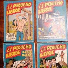 Tebeos: CÓMIC TEBEO EL PEQUEÑO HÉROE 6 NÚMEROS ED. MAGA ORIGINALES. Lote 199161920