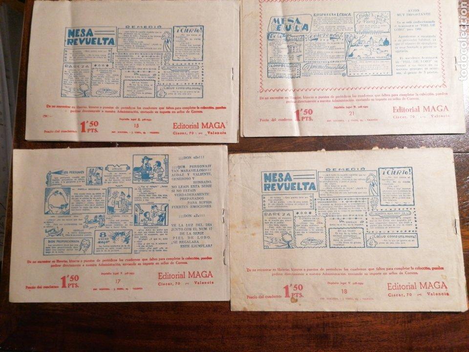 Tebeos: Cómic tebeo Piel de Lobo Ed. MAGA lote 12 números originales - Foto 2 - 199245580