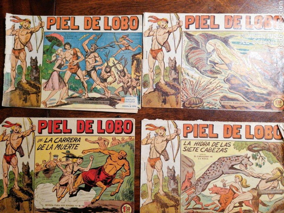 Tebeos: Cómic tebeo Piel de Lobo Ed. MAGA lote 12 números originales - Foto 3 - 199245580
