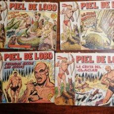 Tebeos: CÓMIC TEBEO PIEL DE LOBO ED. MAGA LOTE 12 NÚMEROS ORIGINALES. Lote 199245580