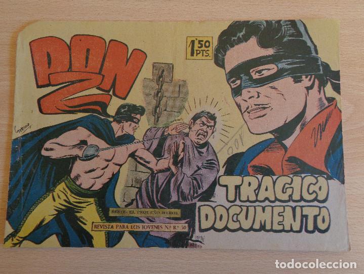 DON Z Nº 12. ORIGINAL. TRÁGICO DOCUMENTO. EDITA MAGA (Tebeos y Comics - Maga - Don Z)