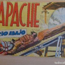 Tebeos: APACHE Nº 45. RIO ABAJO. ORIGINAL. EDITA MAGA. Lote 199418902