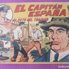 Tebeos: TEBEO EL CAPITAN ESPAÑA, EL RETO DEL TRAIDOR, ED. MAGA Nº 15. Lote 199449087