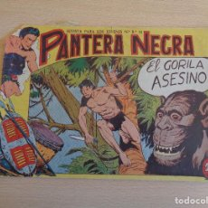 Tebeos: PANTERA NEGRA Nº 19. ORIGINAL. EL GORILA ASESINO. MAGA. Lote 199487445