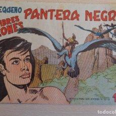 Tebeos: PEQUEÑO PANTERA NEGRA Nº 127. ORIGINAL. LOS HOMBRES LEONES. MAGA. Lote 199487583