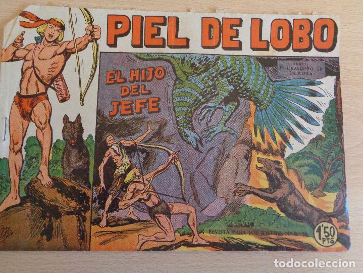 PILE DE LOBO Nº 2. ORIGINAL. EL HIJO DEL JEFE. MAGA (Tebeos y Comics - Maga - Piel de Lobo)
