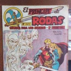 Giornalini: EL PRÍNCIPE DE RODAS - UNO CONTRA TODOS - EDITORIAL MAGA - 1960 . Lote 200049811