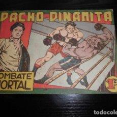 Livros de Banda Desenhada: PACHO DINAMITA Nº 1. ORIGINAL - EDITORIAL MAGA. Lote 200185998