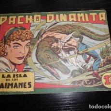 Livros de Banda Desenhada: PACHO DINAMITA Nº 8. ORIGINAL - EDITORIAL MAGA. 1,25 PTS. Lote 200186441