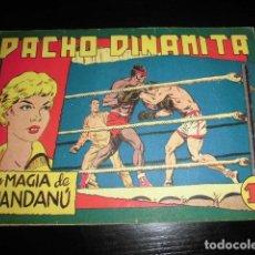 Tebeos: PACHO DINAMITA Nº 115. ORIGINAL - EDITORIAL MAGA - 1,25 PTS. Lote 200610647