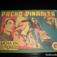 Livros de Banda Desenhada: PACHO DINAMITA Nº 118. ORIGINAL - EDITORIAL MAGA - 1,25 PTS. Lote 200611120
