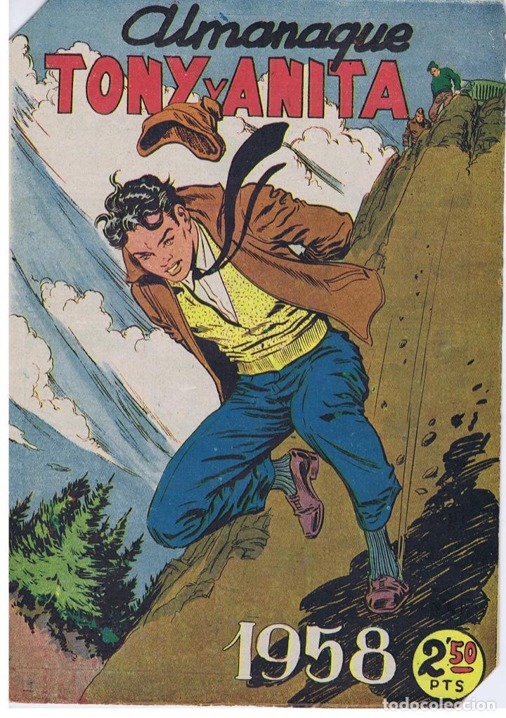 ALMANAQUE TONY Y ANITA 1958 (Tebeos y Comics - Maga - Tony y Anita)